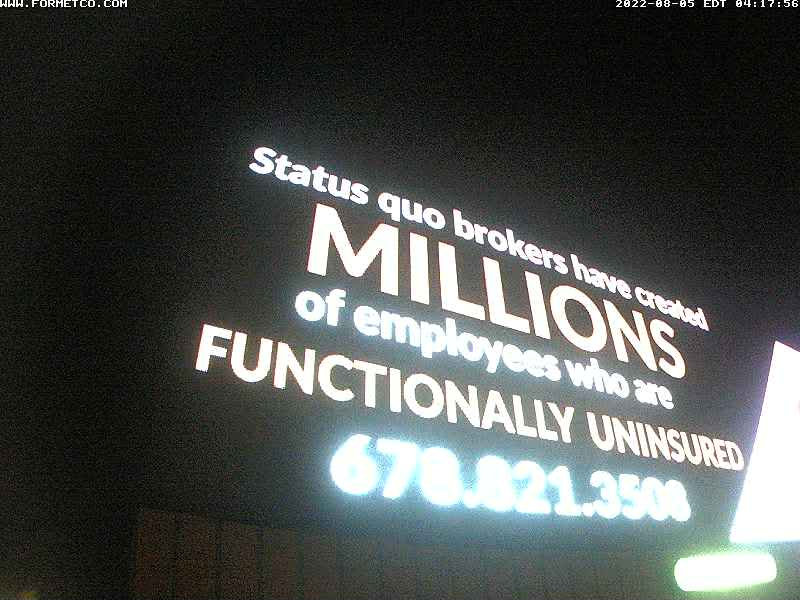 Doylestown billboard view